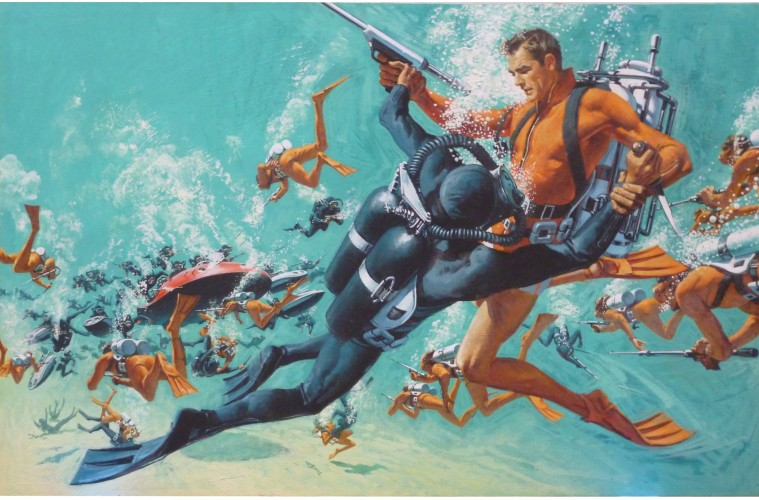 Great Moments In Action History The Underwater Battle In