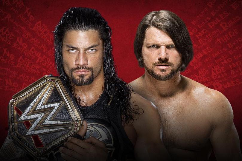 Extreme Rules Roman vs AJ AAGG