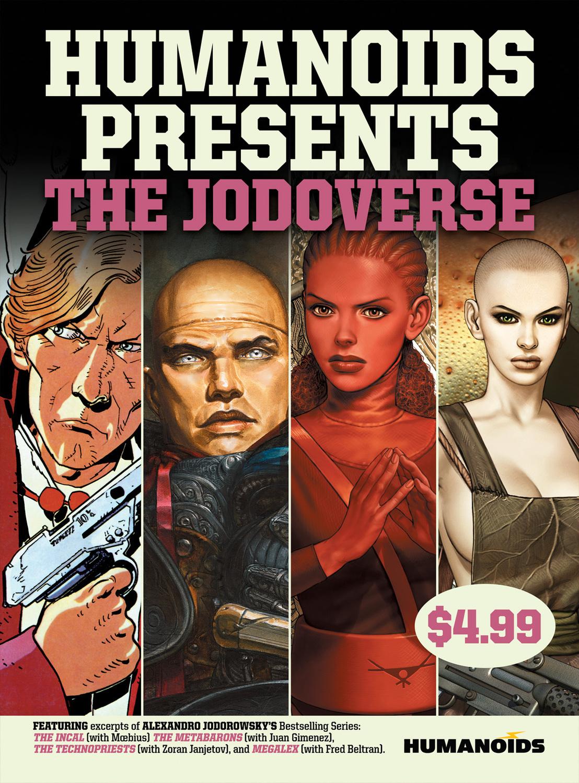 Humanoids Presents Jodoverse Cover