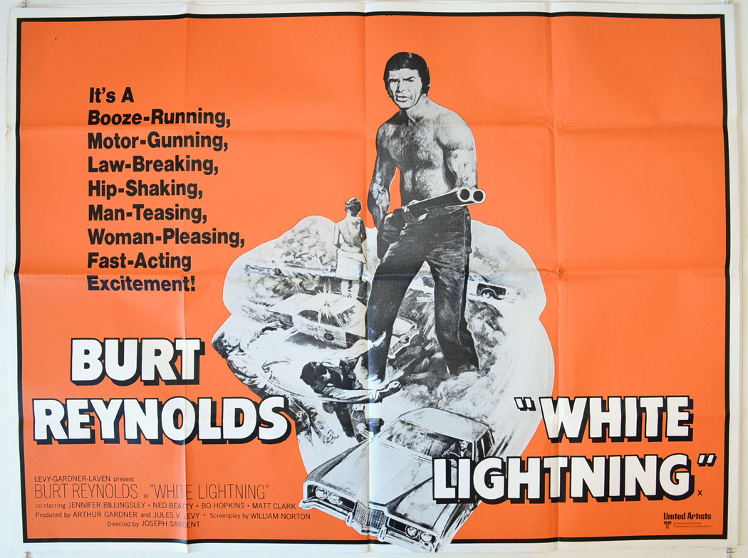 White Lightning : Original Cinema Quad Poster