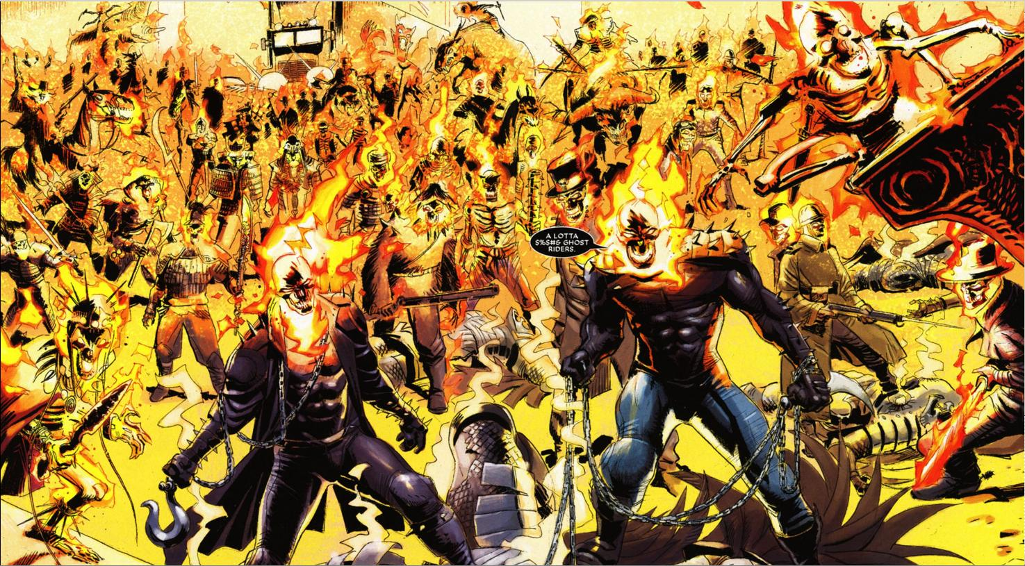 �a lotta amp ghost riders� a full history of marvel�s