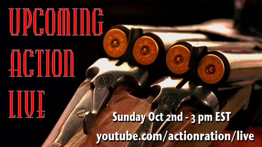 Upcoming action live October 2016 AAGG