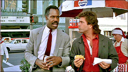 lethal weapon hot dog