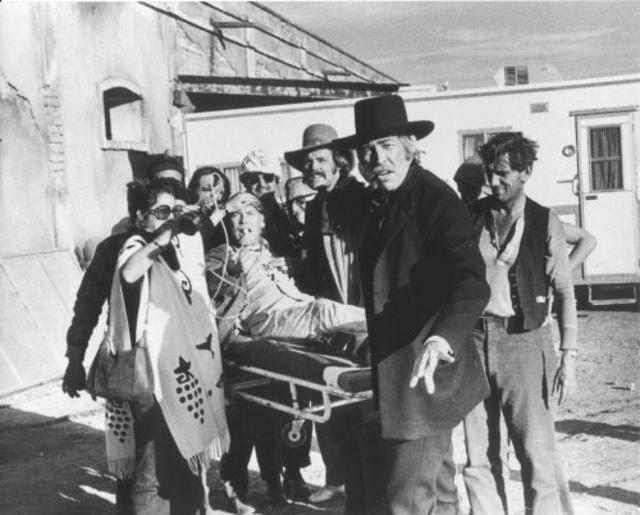 Sam Peckinpah stretcher pic