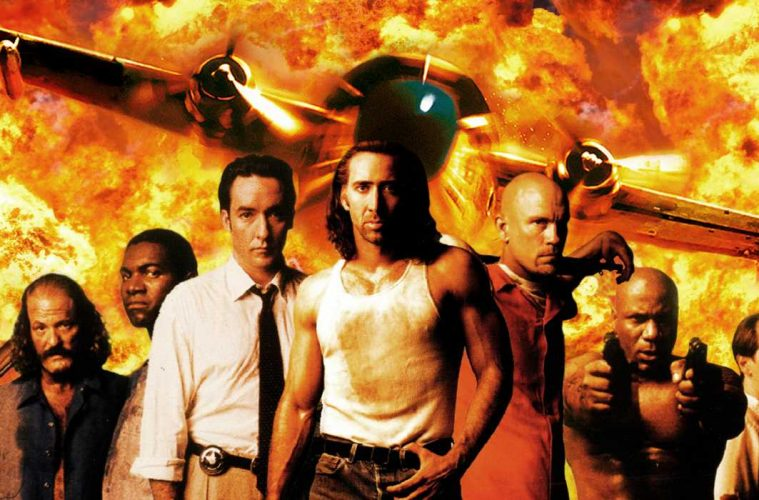 The Best Action Movies Of 1997 Con Air Action A Go Go Llc
